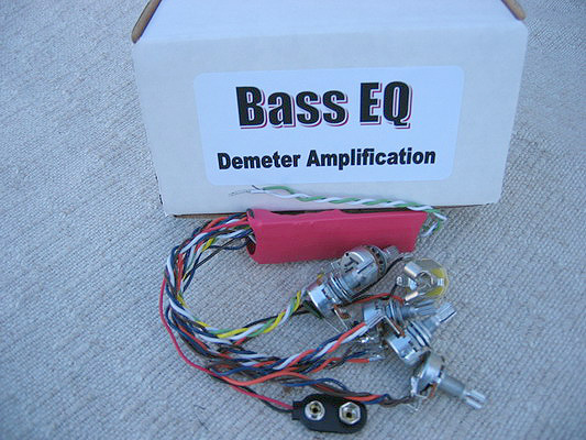 Demeter Bass EQ Preamp Onboard for Bass